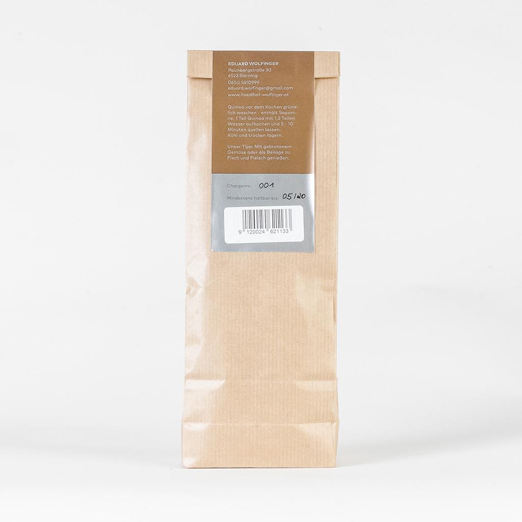 Weißer Quinoa Rückseite vom Hödlhof - Wolfinger